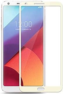 دياسو - واقيات شاشة الهاتف - غطاء كامل من الزجاج المقوى لهاتف LG G6 H870 H870S H873 واقي شاشة صلب (ذهبي لهاتف LG G6)