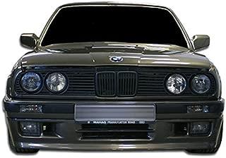Extreme Dimensions Duraflex Replacement for 1988-1991 BMW 3 Series E30 2DR 4DR M-Tech Front Bumper Cover - 2 Piece