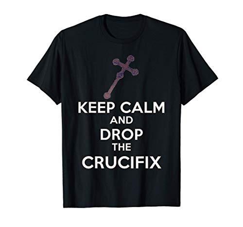 Phasmophobia , KEEP CALM - Crucifix , Online Gamer Funny T-Shirt