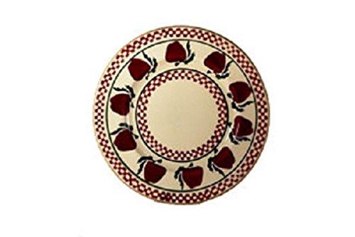 Nicholas Mosse Pottery Teller, Apple Design, 20cm Durchmesser