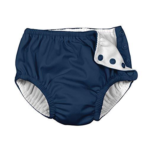 i Play Unisex Swim Diaper Navy Solid-3T