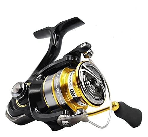 LQJin Reel Spinning Pesca Reel 1000-6000 ABS Metail Treol 5-12kg Power Engranaje Duro Luz y Cuerpo Duro (Color : 3000 Series)