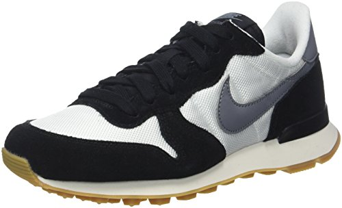 Nike Damen WMNS Internationalist Sneaker, Weiß (Summit White/Cool Grey-Black-Gum Medium Brown), 36.5 EU