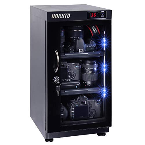 HOKUTO 防湿庫・ドライボックス HPシリーズ容量48L 5年保証 カメラやレンズカビ対策 (48L全自動)