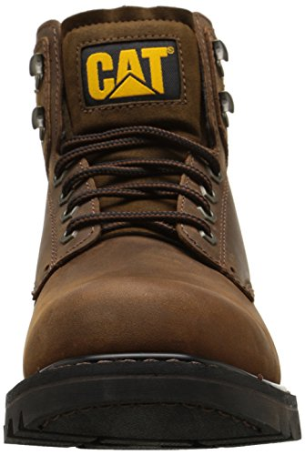 Caterpillar Men's Second Shift Work Boot,Dark Brown,11 M US