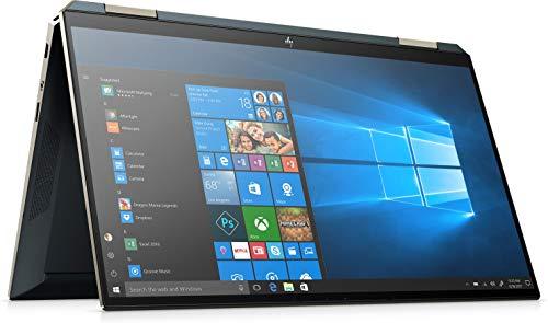 HP Spectre x360 13-aw2006ng (13,3 Zoll / FHD IPS Touch) 2in1 Laptop (Intel Core i7-1165G7, 16GB DDR4, 512GB SSD, 32GB Intel Xpoint, Intel Iris Xe, FPR, Windows 10) Blue inkl. HP Active PEN + USB-C Hub
