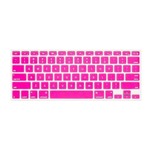 "Best Shopper - MacBook 13"" / 15"" Keyboard Skin Cover - Hot Pink"
