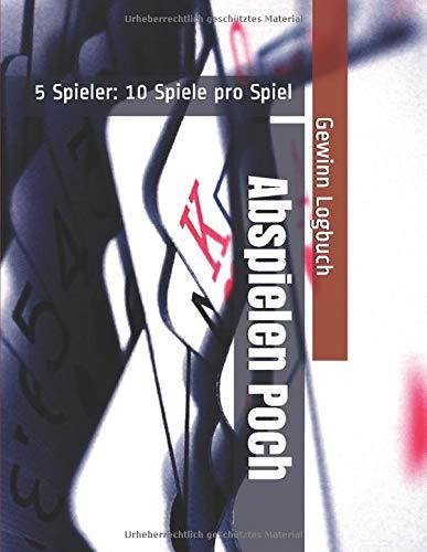 Abspielen Poch - 5 Spieler: 10 Spiele pro Spiel - Gewinn Logbuch