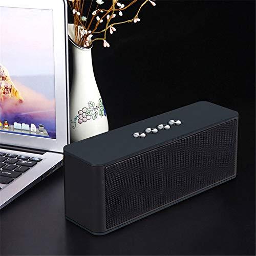 Enceinte Bluetooth, Portables Appel Vocal HD Son stéréo Haute fidélité Carte TF, entrée AUX Utilisé pour Les Voyages, Le Sport, Les Cadeaux, etc (Color : C)