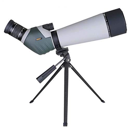 Monocular H Power & HD, Monocular HD de Gran diámetro 20-60X Monocular Impermeable con Relleno de nitrógeno con Zoom Continuo for observación de Aves Camping Caza Vida Salvaje Viaje, DW20~60X60 cxjf