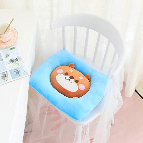 Silence Weiche Karikatur gelbe Küken Baby Stuhl Kissen süße Katze Shiba Inu Hund gefüllt Form Wurfkissen Haustier Mat-Square_Dog