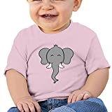 African Elephant Baby T Shirt Short Sleeve Tops Bodysuit Crawling Clothes