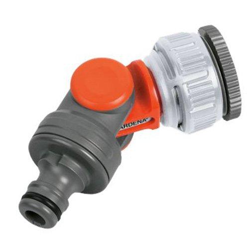 Gardena 0999-50 Winkelhahnstück für 26,5 mm (G 3/4)-Wasserhahn