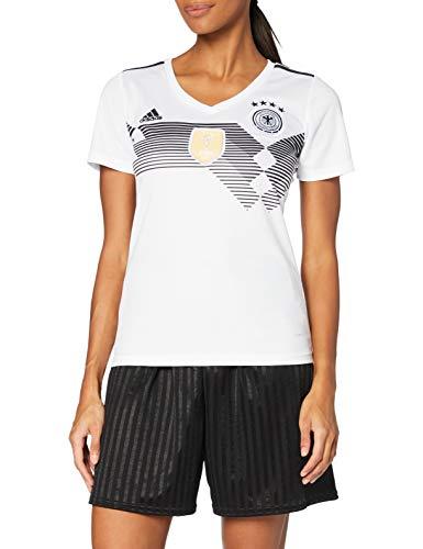 adidas Damen Dfb Home Replica Trikot, weiß(White/Black), L