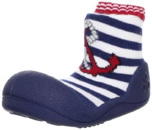 [Atipasu] Chaussures Chaussettes marinl01red Marine Rouge L (12.5cm) (12,5 cm)