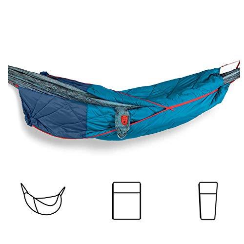 GRAND TRUNK 360 ThermaQuilt 3 en 1 Hamac avec couverture et sac de couchage (bleu/bleu marine)