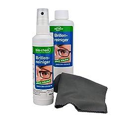 bio-chem Brillenreiniger-Spray mit Anti-Beschlag Funktion