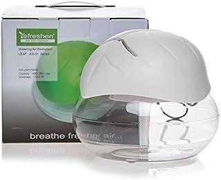 Leaf Shape Electrical Water Air Purifier Air Revitalizer Air Humidifier with free Liquid drops
