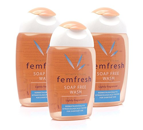 3x Femfresh Daily Intimate Hygiene Wash Soap Free 150ml Lightly Fragranced by Femfresh