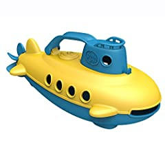 Safe Playing Toy: this submarine toy is made using 100% recycled plastic milk containers. It contains no BPA, phthalates and is PVC safe for earth as well as your child. Suitable for indoor and outdoor play Toy Submarine Utility: pool toy enables you...