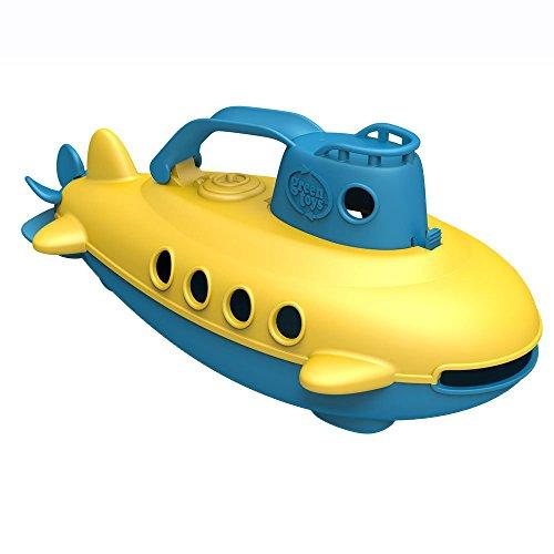 Green Toys SUBB-1032 - U-Boot, blauer Turm
