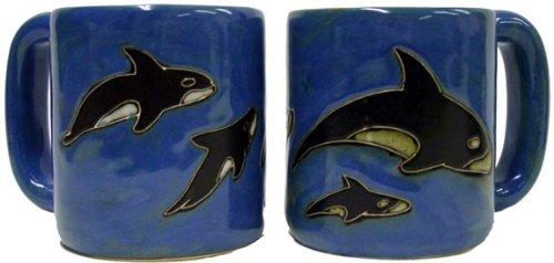 Orca Whale Mug Set