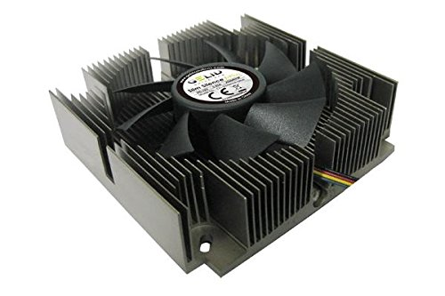 Gelid Solutions Slim Silence i-Plus Procesador Enfriador - Ventilador de PC (Procesador, Enfriador, 7,5 cm, LGA 1156 (Socket H), Intel Celeron E, 1200 RPM)