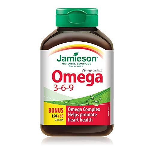Jamieson Nature's Finest Omega 3-6-9, 200 capsules