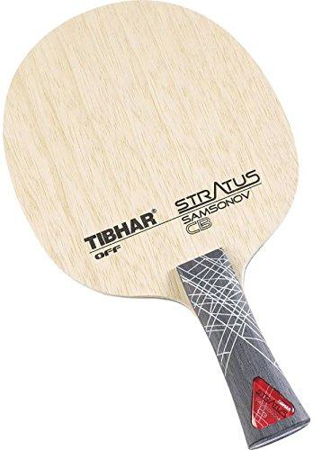 Tibhar Samsonov Stratus Carbon Unstrung Wooden Table Tennis Blade (Multicolor, Weight - 80 g)