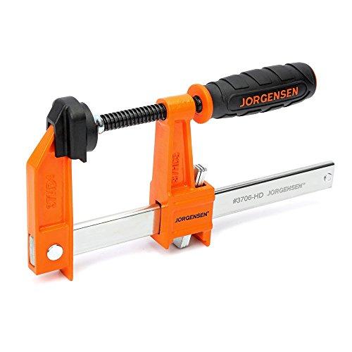 Pony Jorgensen 3706-HD Heavy Duty Steel Bar Clamp, Orange, 6-Inch