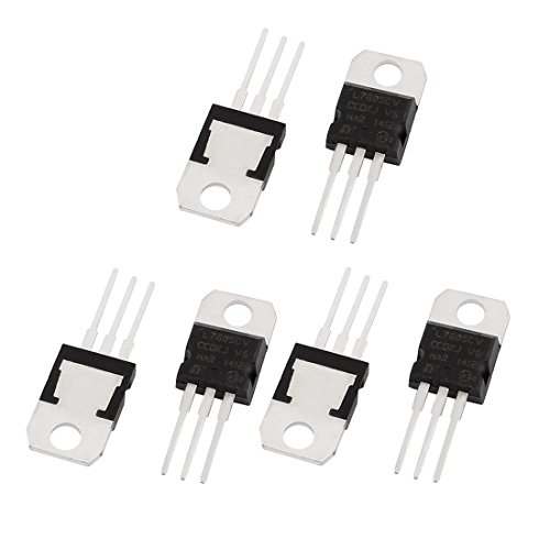 Buy Discount Uxcell a15112400ux0707 1A 3 Pin Terminals 7805 Positive Voltage Regulator TO-220, 5V, 6...