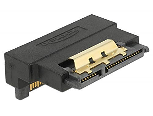 DeLock SATA-Adapter - Serial ATA 150/300/600 - SATA Combo (s) bis SATA Combo (R) abgewinkelt, 63943