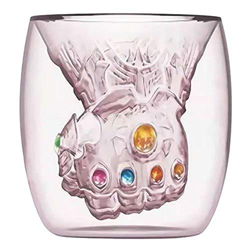 Avengers Thanos Glasbecher Infinity War Gloves Kaffee Milch Wein Süße Tassen 6–10 Unzen 200–300 ml