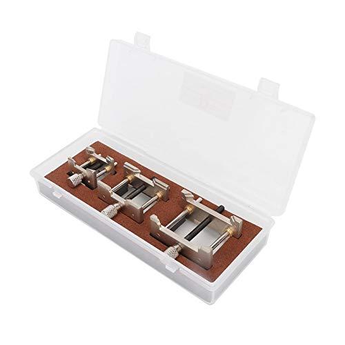Material de Metal de Calidad Base Fija de Movimiento de Reloj multifunción fácil para reparación de Relojes para fabricación de Joyas, Pasatiempos, Manualidades