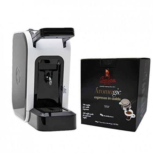 Macchina Cialde Caffè'Spinel Ciao' + 200 Cialde Caffè (2 box da 100) - Caffè Barbera