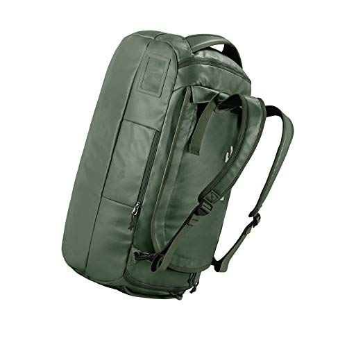 60l Waterproof Duffle Holdall Bag Backpack Convertible Packable Travel Green