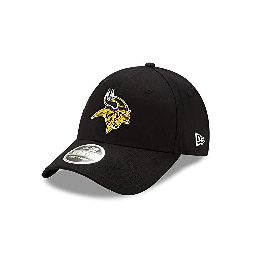 New Era Minnesota Vikings 9forty Stretch Snapback Cap NFL 2020 Draft Black - One-Size