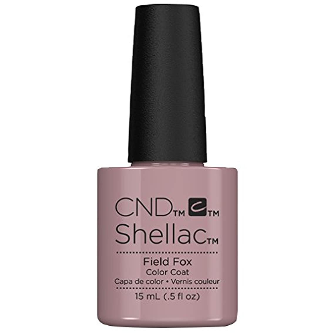 科学者スロー火炎CND Shellac - Limited Edition! - Field Fox - 15ml / 0.5oz