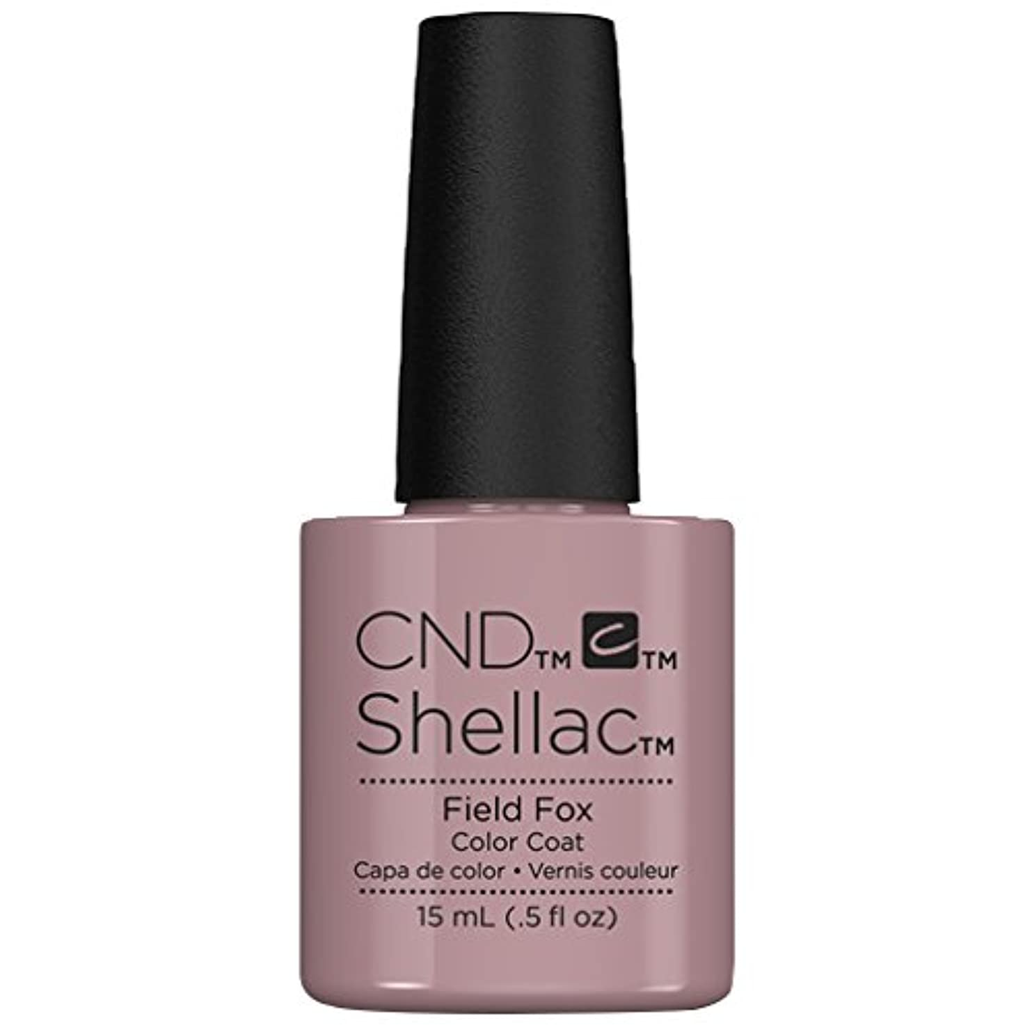 区画非アクティブ避難するCND Shellac - Limited Edition! - Field Fox - 15ml / 0.5oz