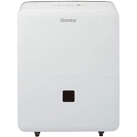 Danby DDR030BJWDB 30 Pint Dehumidifier for Bedroom, Basement, Living Room, White