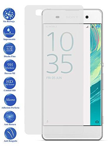 Todotumovil Protector de Pantalla Sony Ericsson Xperia XA de Cristal Templado Vidrio 9H para movil