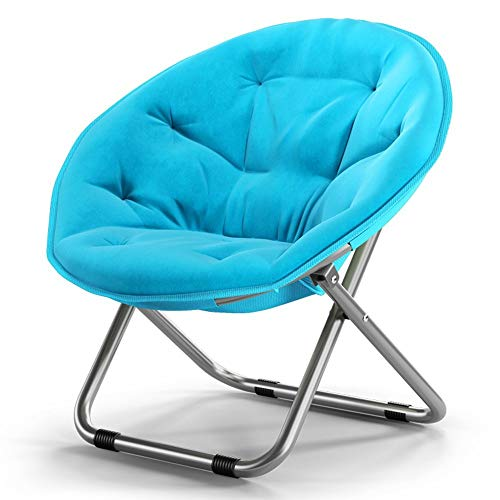 N/W Silla de Luna para Adultos/Silla para Tomar el Sol/Silla Perezosa/Silla Redonda reclinable/sillón/sofá Perezoso para el hogar de Color sólido / (5 Colores)