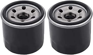 Tvent HF138 138 Oil Filter Replacement for SUZUKI AN650 DL1000 DL250 DL650 GSX1300R GSXR600 SV650 GSXS750 KYMCO MXU450i MXU375 (Pack of 2)