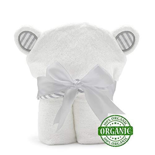 Beb/és y Reci/én Nacidos Toallas con Capucha de Panda de Beb/é Algod/ón Natural Muy Duradero Extra Suave y Grueso Pejoye Toalla de Ba/ño conCapucha de Bamb/ú Org/ánico para Ni/ñas Ni/ños