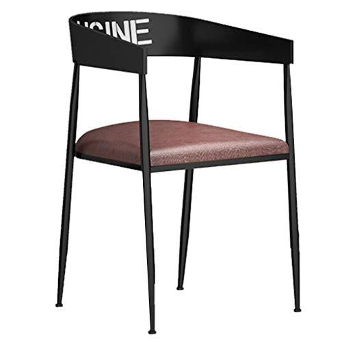 LYJBD – Taburetes de Metal sillas de Comedor – Oxidado Industrial Estilo Tolix Estilo Comedor sillas para Bar, Patio, bistró Restaurante