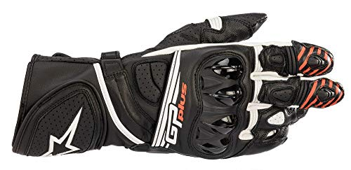 Guantes de Moto Alpinestars GP Plus R V2 Gloves Black White, Black/White, L