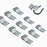 Tuplip Fe Couch Spring Repair Kit (25pcs), Upgrade Quality Alloy Spring Buckle for Sofa/Chair/Couch/Bed Spring Clips Repair Parts
