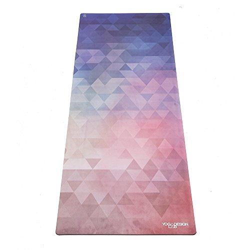 Yoga Design Lab (ヨガデザインラボ) ヨガマット 厚さ3.5mm コンボマット ストラップ付 Tribeca Love