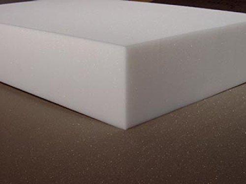 Mousse de rembourrage fixe, plaque de découpe, matelas fixe, mousse de siège, mousse RG35 206 cm x 130 cm, plaque de différentes épaisseurs.