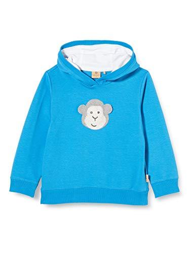 Bellybutton mother nature & me Baby-Jungen 1/1 Arm Sweatshirt, Blau (Mediterranian Blue 3028), (Herstellergröße: 62)